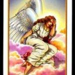 La carta cinco del tarot de los ángeles