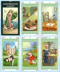 Las cartas del Tarot de Lenormand