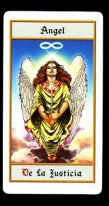 cuatro en el tarot de los ángeles