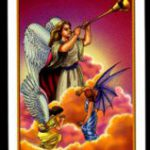 La carta del 8 del tarot de los ángeles