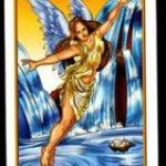 La carta del seis en el tarot de los ángeles