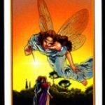 La carta del siete del tarot de los ángeles