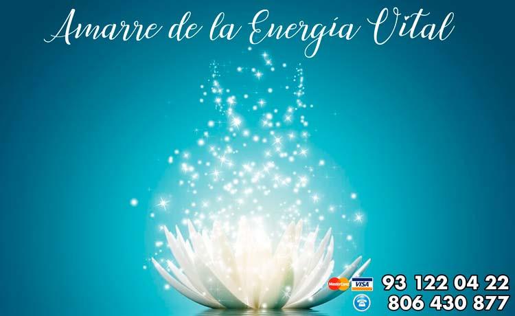amarre de la energía vital