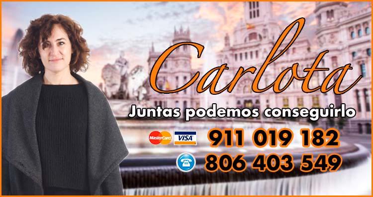 Carlota - lista de videntes que aciertan en Madrid